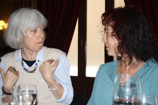Con Chiara Zamboni. Barcelona, 2012