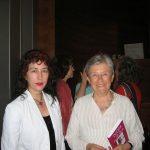Con Luisa Muraro. Barcelona, 2012. Foto: Gloria Luis Peralvo